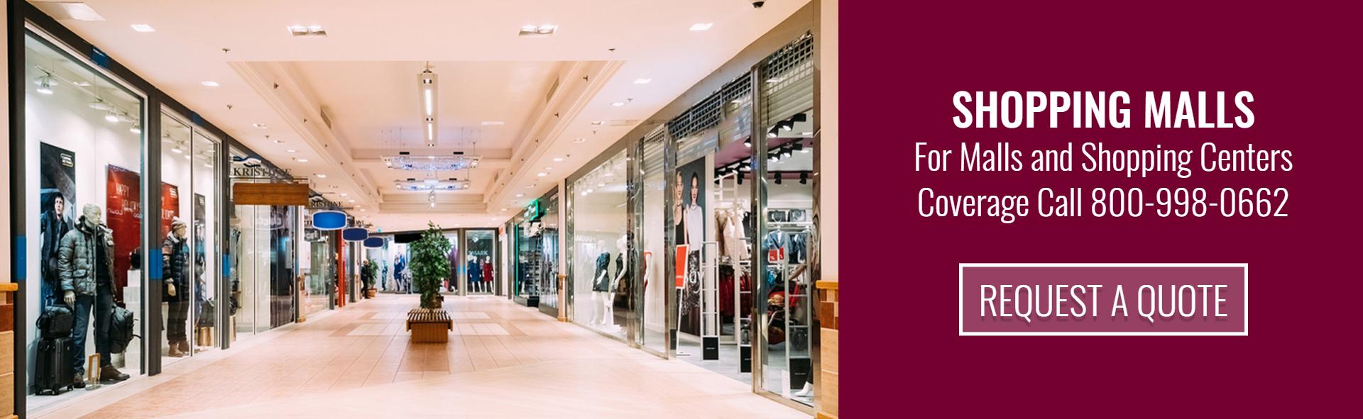 Shopping Malls Insurance Ohio